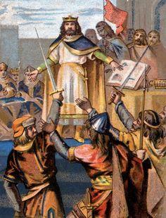 Élection du roi Hugues Capet en 987. 3 juillet 987 : Hugues Capet est couronné et sacré roi de France à Noyon. Histoire de France. Patrimoine. Magazine
