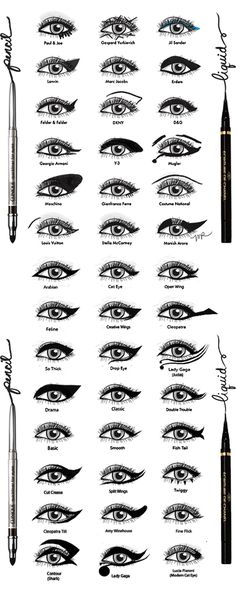 Eyeliner ideas! More