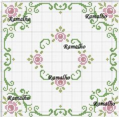 235 Likes, 14 Comments - demet Cross Stitch Pillow, Cross Stitch Rose, Cross Stitch Borders, Cross Stitch Flowers, Cross Stitch Charts, Cross Stitch Designs, Cross Stitching, Cross Stitch Embroidery, Cross Stitch Patterns