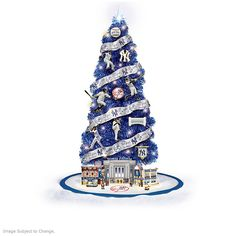 Shop The Bradford Exchange for New York Yankees Christmas Tree Collection. Make it a Go Yankees™ Go! Celebrate the New York Yankees™ unrivaled legacy of greatness while getting in the Christmas spirit with the New York Yankees Christmas Tree. Go Yankees, Yankees Logo, New York Yankees, Yankees World Series, Mlb World Series, Christmas Tree Collection, Pre Lit Christmas Tree, Aroldis Chapman, Yankee Stadium