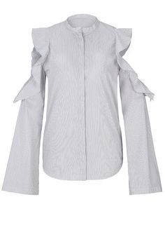 Dorothee Schumacher SENSITIVE VOLUME blouse sleeve 1/1 grau