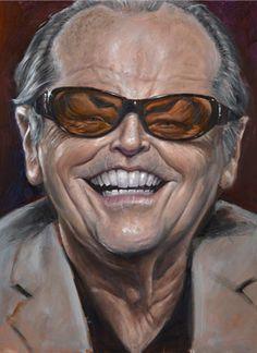 Jack Nicholson #Caricature #FunnyFaces