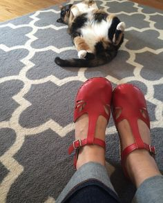 """""""Zoe is as excited as I am that it's CLOG WEATHER!!"""" - Troentorp photo by @amberliddle"""