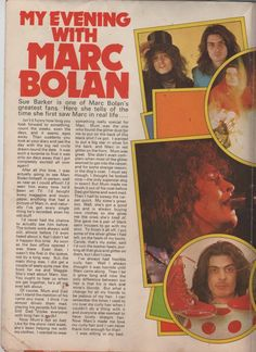 T.REX MARC BOLAN SUPER SIZED FOLD OUT POSTER HARD TO FIND | eBay