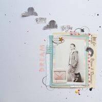 Dream Big by Monika Glod from our Scrapbooking Gallery originally submitted 11/01/13 at 09:39 AM