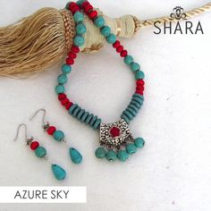Azure Sky Necklace