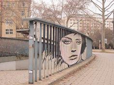 zebrating street art Anamorphic 22