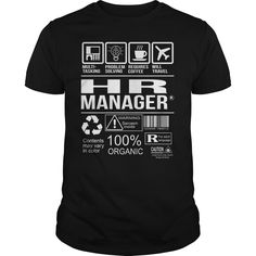 Awesome Tee For Hr Manager T-Shirts, Hoodies. VIEW DETAIL ==► https://www.sunfrog.com/LifeStyle/Awesome-Tee-For-Hr-Manager-105182472-Black-Guys.html?id=41382