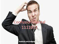 Codigos Grabovoi: Confusion mental