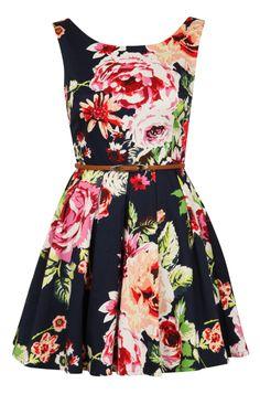 Louche Elli Flower Dress