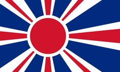 Flag of The British-Japanese Empire - Imgur All Flags, Flags Of The World, Flag Icon, Flag Art, Alternate History, Flag Design, Coat Of Arms, Herb, Medieval
