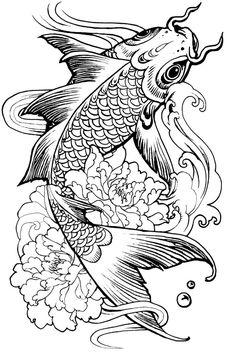 ausmalbild zwei symmetrische fisch   malvorlagen zum ausdrucken, malvorlagen und kostenlose