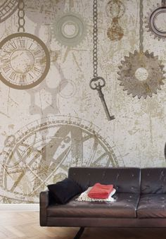 Wallpepper - Clock & Keys