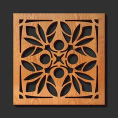 Decorative Trivets | Decorative Laser Cut Wood Trivet