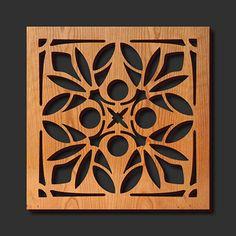 Decorative Trivets   Decorative Laser Cut Wood Trivet