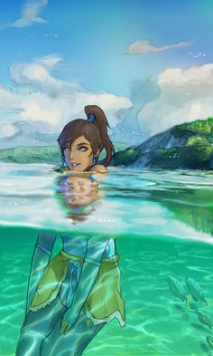 Korra by mono22chrome.deviantart.com