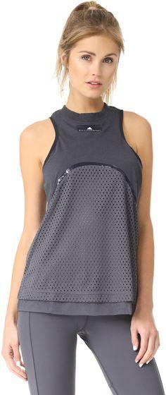 adidas by Stella McCartney Yoga Mesh Tank - affiliate link