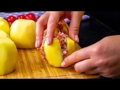 Copii ii adora si bunicile ii recomanda! Cartofi umpluti cu dragoste   SavurosTV - YouTube