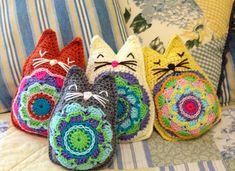 Karmic Kitty Toy By PartPixyDesigns - Purchased Crochet Pattern - (etsy)
