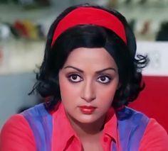 Wonder Woman Art, Hema Malini, She Movie, Iconic Women, Retro Look, Beautiful Indian Actress, Bollywood Actress, Indian Actresses, Beautiful Outfits