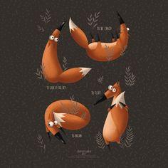 Leading Illustration & Publishing Agency based in London, New York & Marbella. Art And Illustration, Fuchs Illustration, Illustrations And Posters, Fox Character, Character Design, Fox Art, Cute Fox, Whimsical Art, Cute Drawings
