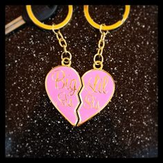 Big and little key chains $13.00
