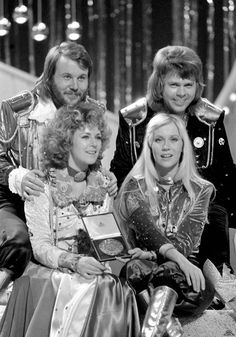 ABBA c.1974 going on costumes