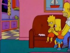 Los Simpson - No vives de ensalada