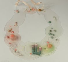 JIEN LEE-USA - necklace Swamp 1 2010, Sculpey, silicone, silver  350 x 310 x 45 mm - South Korea, Seoul, Kookmin University