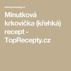 Minutková krkovička (křehká) recept - TopRecepty.cz