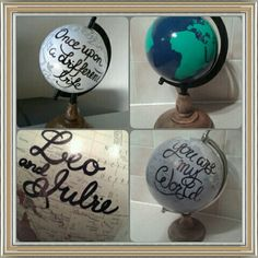 Hey, I found this really awesome Etsy listing at https://www.etsy.com/listing/227951384/custom-made-hand-painted-globe https://www.etsy.com/uk/shop/WholeWorldOfLove Hand painted globe. Wedding guest book. Wedding decor. Home decor. Travel gift.