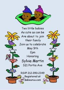 Two peas in a pod baby shower invitation printable printable two peas in a pod twins baby shower party invitations filmwisefo Image collections