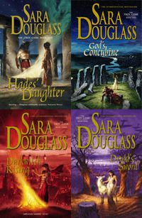 The Troy Game series, by Sara Douglass (The first book is kind of hard to get through, but it gets really good, I promise!)