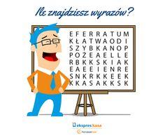 Zobacz, ile wyrazów uda Ci się odnaleźć! #Zagadka
