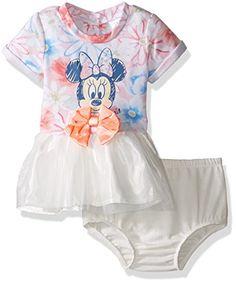 4b399fddf956 Disney Baby Girls  Minnie Mouse Dress