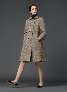 A Treasure Trove - Dolce & Gabbana fall/winter 2014 Timeless Fashion, Love Fashion, Fashion Models, Winter Fashion, Fashion Outfits, Womens Fashion, Retro Outfits, Classy Outfits, Coats For Women