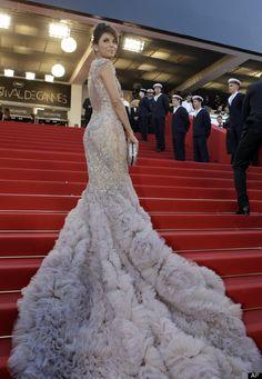 Eva Longoria in Marchesa at Cannes