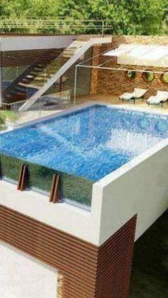 Dream garage! Pool on top.