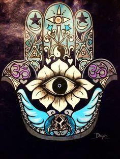 Hamsa , hand of fatima x on Canvas . Housewarming gift Aquarium Hamsa , hand of fatima x on Canvas . Housewarming giftAquarium Hamsa , hand of fatima x on Canvas . Tatouage Hamsa, Hamsa Tattoo, Mandala Art, Psychedelic Art, Hamsa Art, Marquesan Tattoos, Hand Of Fatima, Eye Art, Canvas
