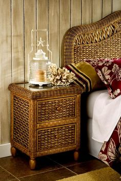 21 Best Tropical Rattan And Wicker Bedroom Furniture