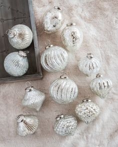 French Country Ornament Set, 12 Pieces Main