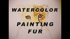 In this video I demonstrate how to paint the fur of a baby cheetah. I discuss the colors and the layerin. Watercolor Projects, Watercolor Paintings, Cardboard Frames, Baby Cheetahs, Painting Fur, Paper Fans, Make A Donation, Art Store, Adventure