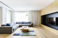 """Apartment Remodeled to fit the Needs of a Family of Three in the City of Gdynia, Poland"""""""