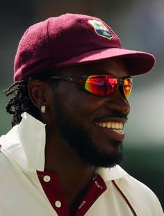 Chris Gayle- fastest century EVER- 170+ off 60 odd balls. AMAZING!! And West Indian!