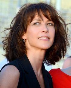 sophie marceau 2014 | sophie marceau yesterday sophie marceau france s favorite actress we ...Love her hair