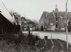 Links meubelzaak Fontijn, in het midden, het voormalige woonhuis van de fam. Deurvorst . Rechts daarvan de Nederlands Hervormde Kerk