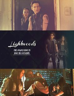 Lightwoods, they always have to have the last word.