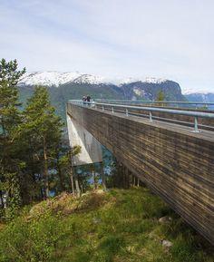Stegastein Viewpoint, Flåm, Norway