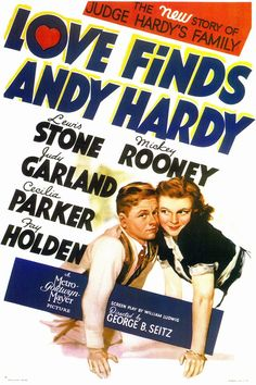 """""""Love Finds Andy Hardy""""- the 4th Andy Hardy movie"""