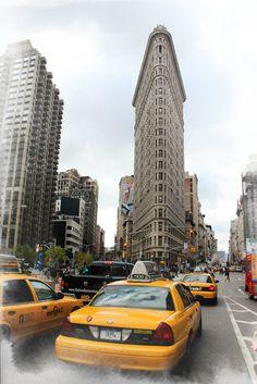 Flatiron Building, New York http://www.flickr.com/photos/danuxo/6359420233/in/pool-592800@N21/